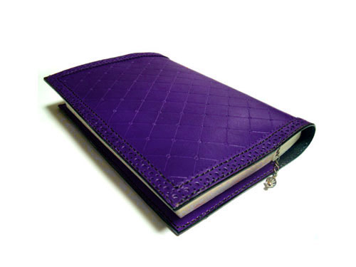 紫色・紺色ブックカバー追加