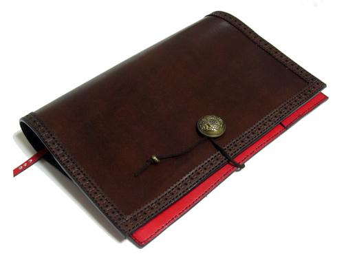 革色変更オリジナルノートカバー