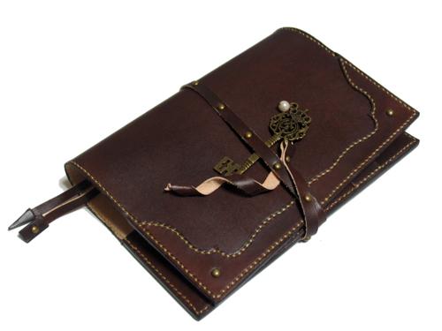 A6サイズ用革の手帳カバー