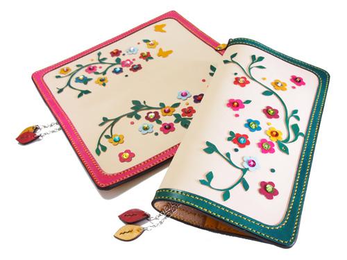 カラフルな花モチーフのほぼ日手帳WEEKSカバー
