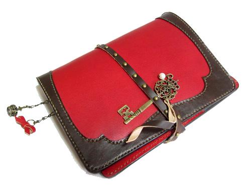 お財布のデザインを取り入れたデザインMIX手帳カバー