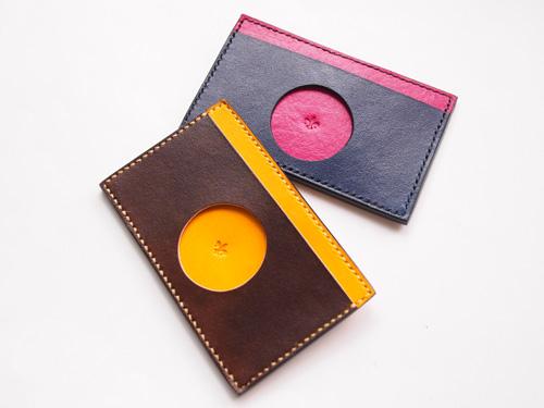 本革カード&パスケース:LUXY