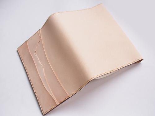 ヌメ革ブックカバー(文庫本)